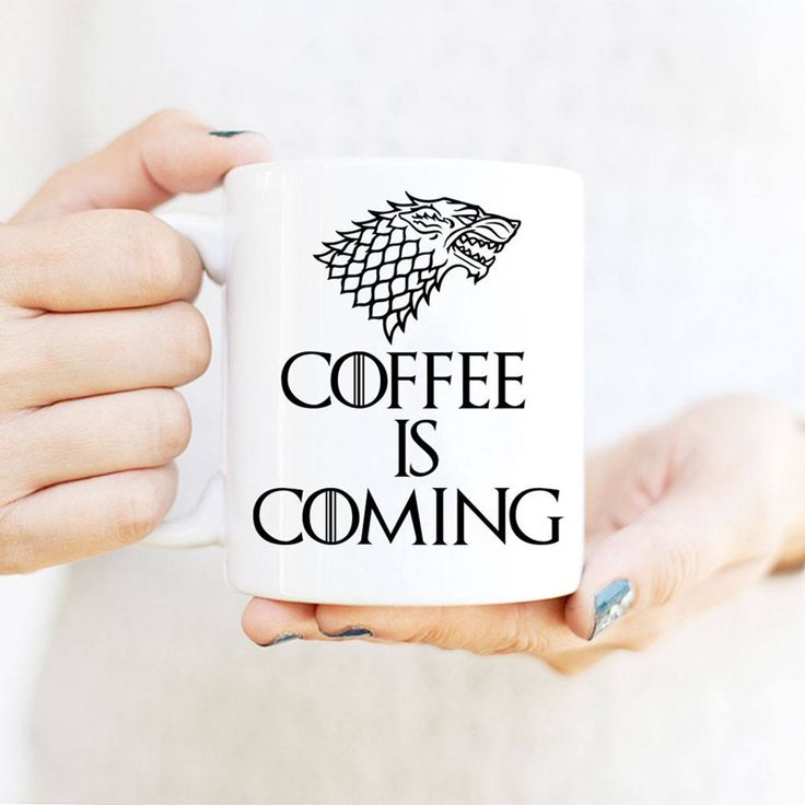 Coffee Is Coming Cup //Price: $25.90 & FREE Shipping //     #house #season