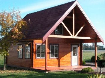 small and cheap cottage to build small log cabin kits