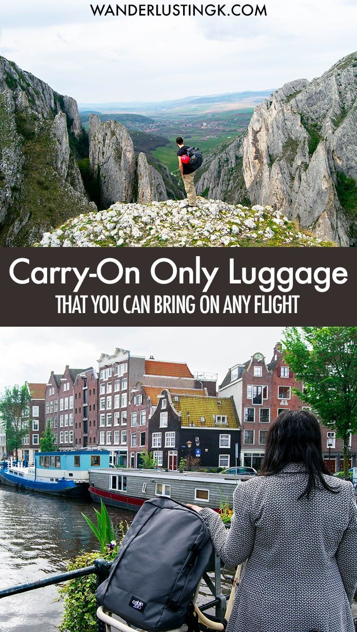 Travel carry-on only? Tips for finding the perfect backpack for travel without any extra fees on budget airlines! Read a review of the best carry-on bag for travel!