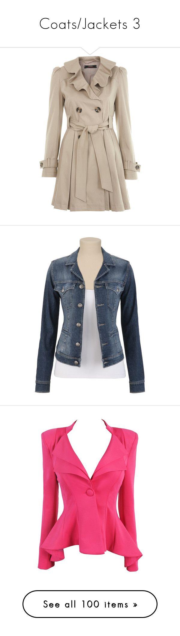 """Coats/Jackets 3"" by singlemom ❤ liked on Polyvore featuring outerwear, coats, jackets, coats & jackets, casacos, mink, pink coat, ruffle coat, pink waist belt and waist belt"
