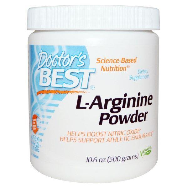 Doctor's Best, L-Arginine Powder, 10.6 oz (300 g)