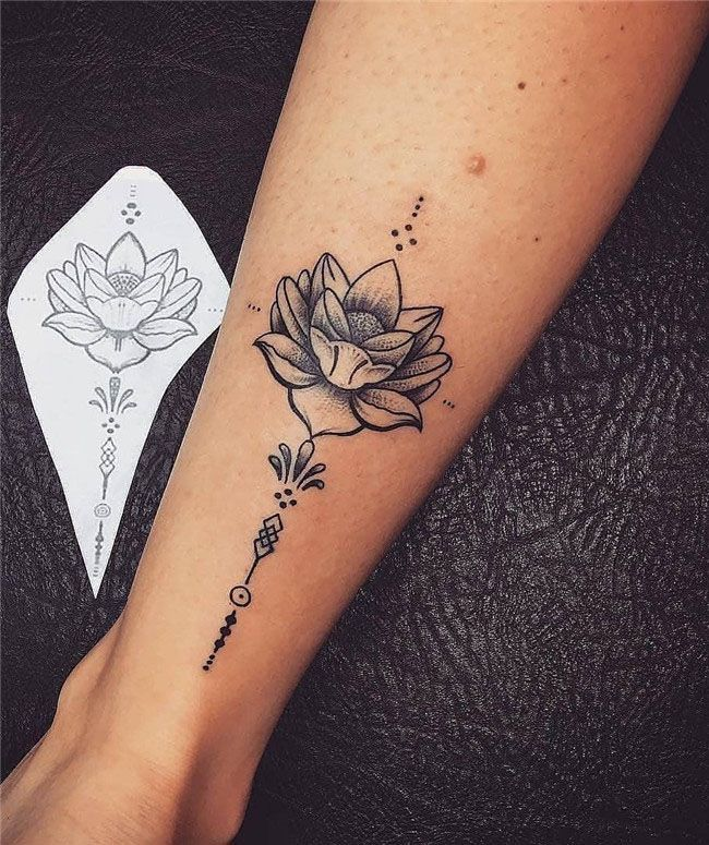 78 Best Small and Simple Tattoos Idea for Women 2019 Leg