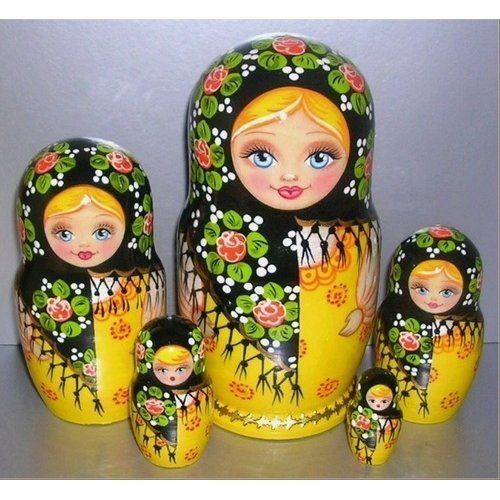 "Russian Nesting Dolls!Autumn 5 pcs,6"" Everything Else"