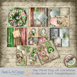 THE FIRST DAY OF CHRISTMAS COLLECTION BY ANGELIQUE'S SCRAPS Available @ http://www.pixelsandartdesign.com/store/index.php?main_page=index&cPath=128_223&zenid=041132cb17366d0cb6df028d30b26895 http://www.digiscrapbooking.ch/shop/index.php?main_page=index&cPath=22_217&zenid=84a0b4184d637e89e5dd7d1ac11bf69c