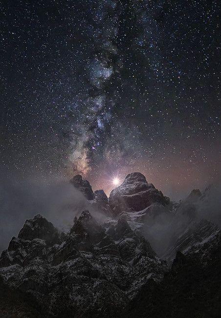 At the edge of the world by Chris Kaddas