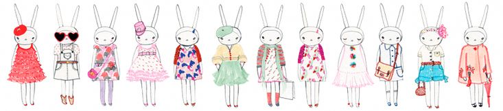 Fifi Lapin. I wonder what animal I would be if i was an illustration....
