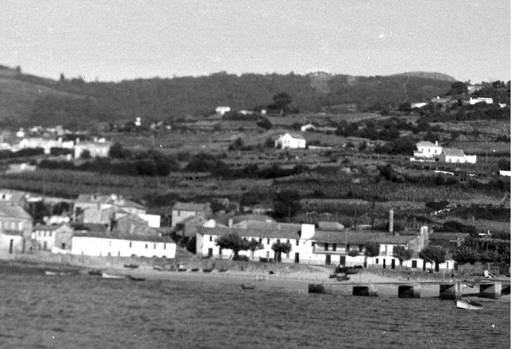 Ubicación de Consevas Allonso en el barrio de Pescadoira. Imagen cedida por Arturo Sánchez Cidrás - See more at: http://gentesdelmar.es/patrimonio-cultural-pesquero/factoria-salazon/galicia-pescadoira/#sthash.5mkMcZkC.dpuf