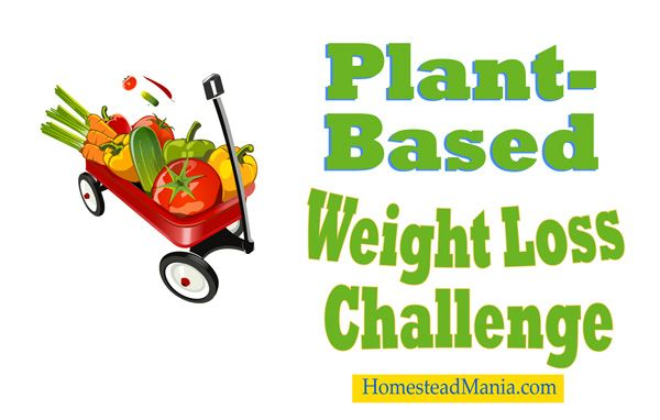 Plant-Based Weight Loss Challenge http://www.homesteadmania.com/plant-based-weight-loss-challenge/