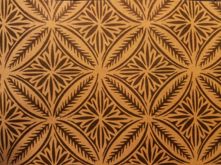 Love this Samoan pattern