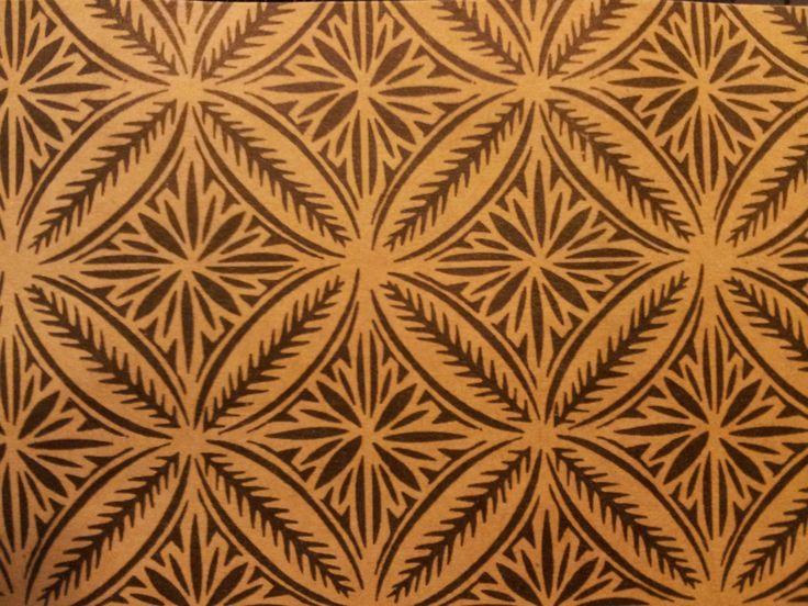 Love this Samoan pattern