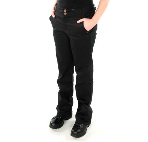Women's Uniform Pants – 100% Cotton Reg. 49.99 - Now 19.99 Uniform Cotton Pants  2 Front pockets 1 Bagged rear pocket Wide waistband Boot leg cut Front zipper 100% Cotton Moxie Trades Uniform Pants
