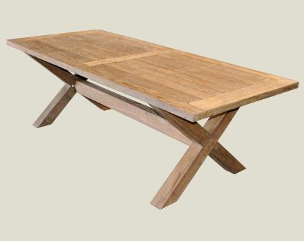 Al Fresco X Leg Indoor/Outdoor Table