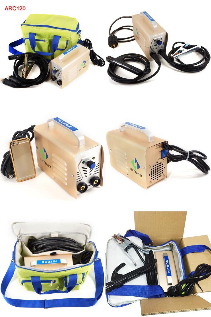 [Visit to Buy] Toolfit  Mini Handheld MMA  Welder ARC120 DC 220V Output 10-120A Inverter Welding Machine Equipment ARC Welders DIY Tool  #Advertisement