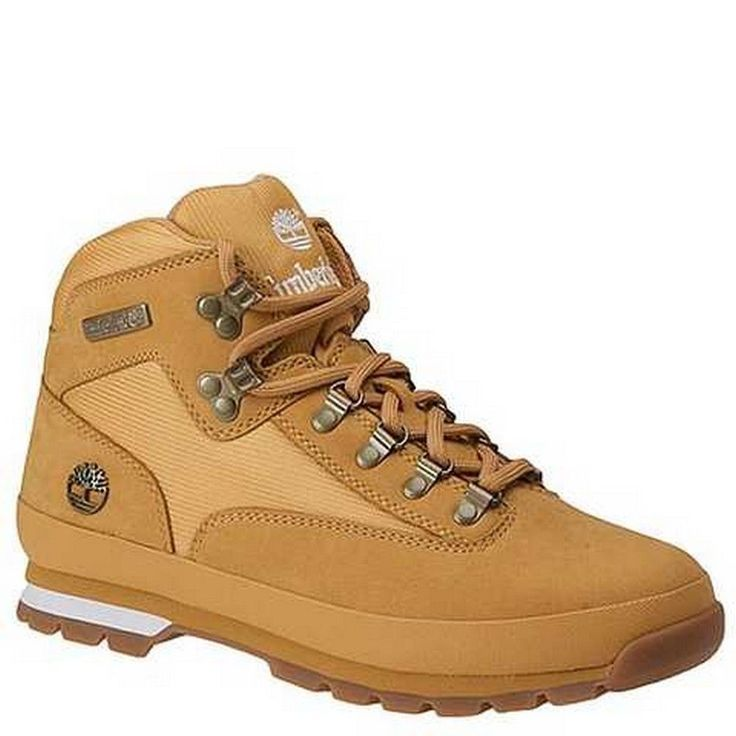 TIMBERLAND EURO HIKER WHEAT MENS CASUAL BOOTS Size 9.5 M