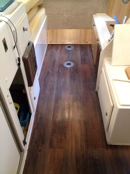 After Picture of Casita Camper Flooring