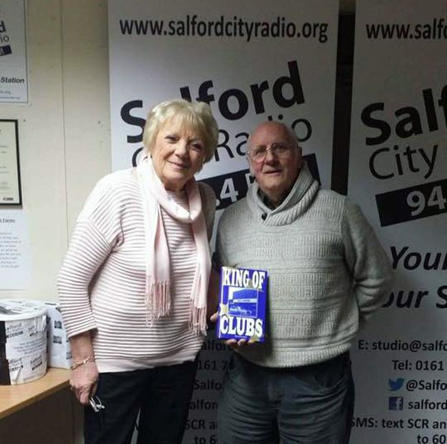 Maureen Prest interviewed by Ian 'Pop' Larkin on Salford City Radio, includes music from the period. Click play below to listen.