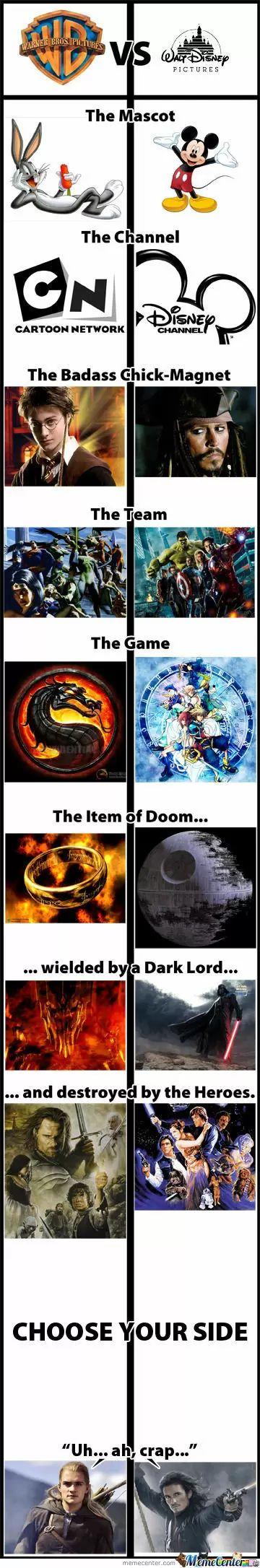 WB vs. Disney