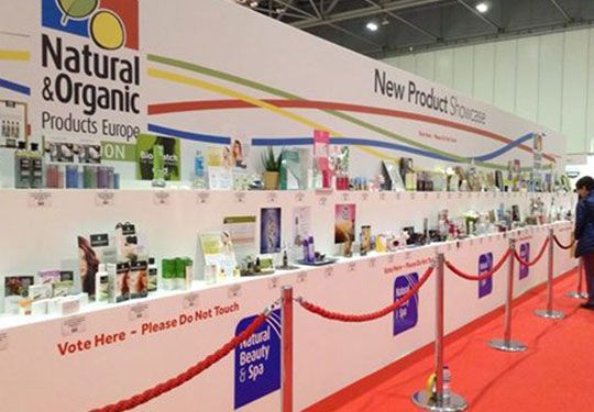 #Herbatint at Natural & Organic Products Europe in #London.