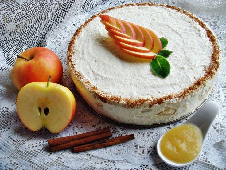 Almakrém torta