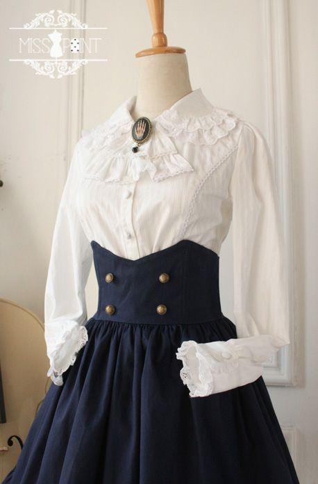 0e2b6b131e27 Miss Point Gothic Vintage High Waist Lolita Skirt | costura | Lolita ...