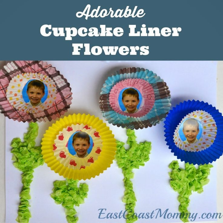 Easy Coast Mommy Cupcake Flowers