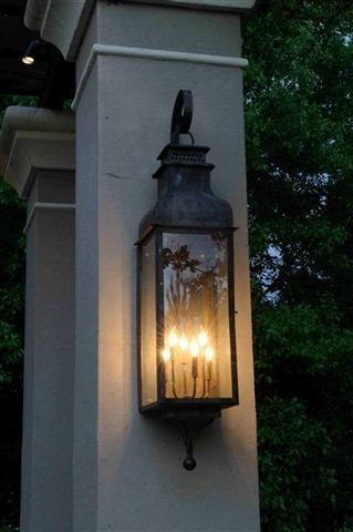 Outdoor Wall Lantern Lights Delectable 22 Best Signposts Images On Pinterest  Decks Driveway Entrance Design Inspiration