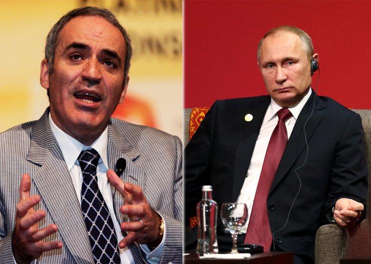 A good read 👉 Garry Kasparov and Vladimir Putin.