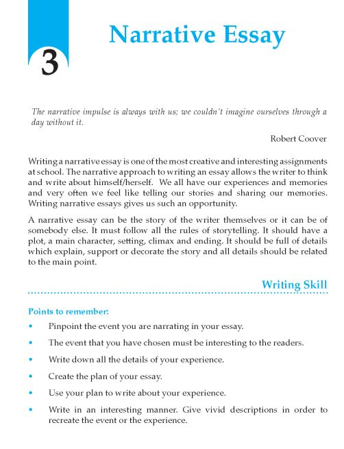 narrative essay basics Steps of a basic essay i introduction (establishes the paper's topic) a opening statements (sentences containing some general comments about the subject at.