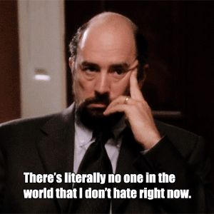 Toby Ziegler from the West Wing - possible inspiration for Grumpy Cat?