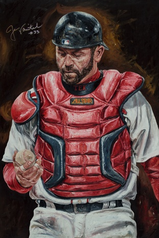 """""""Unfinished Business"""" by Justyn Farano featuring Jason Varitek of the Boston Red Sox."""