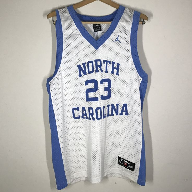 University of North Carolina Tarheels Michael Jordan Nike Jersey Size M Stitched UNC
