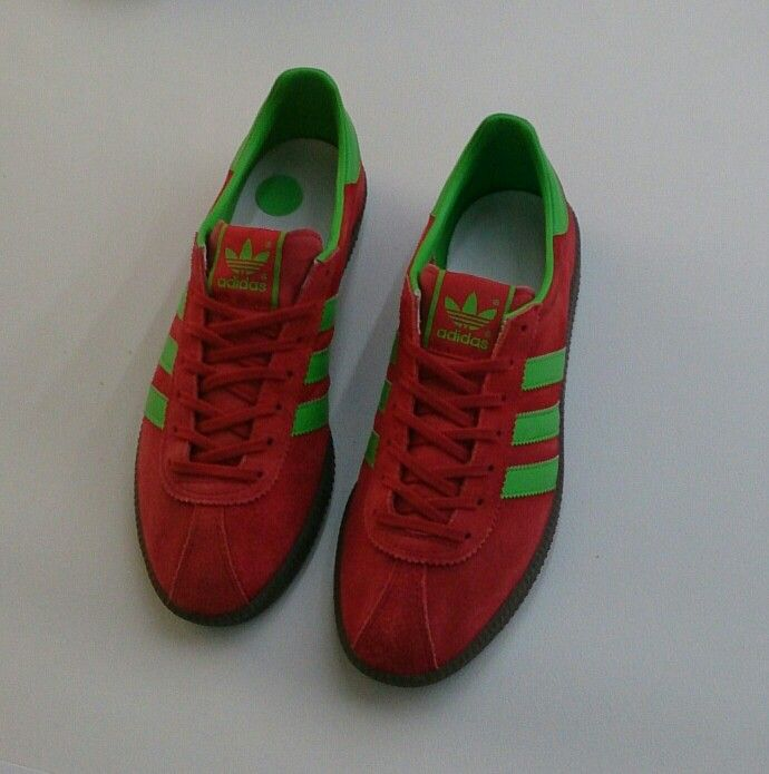 adidas hamburg green and red