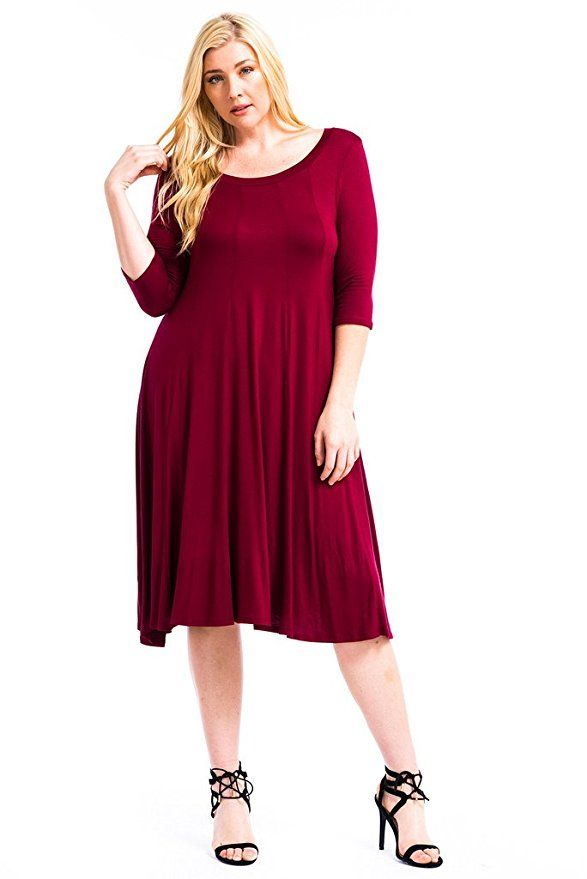 21 best dresses that flatter big bellies images on for Dress shirts for big bellies