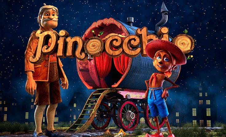Pinokyomuzun burnu yalan söyledikçe değil, kazandıkça uzuyor!  Başlı başına bir senaryosu olan Betsoft Gaming 'in Pinocchio slot oyunu bölüm bölüm ilerleyerek sizi Pinokyo masalının her anına götürüyor ve 5 çark, 15 adet de ödeme çizgisi içeriyor. Bu oyunu bedavaya oynamaya ne dersiniz?