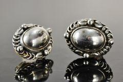 Earrings by George Jensen