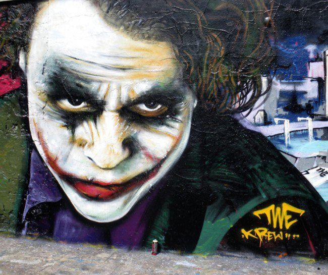 Heath Ledger as Joker