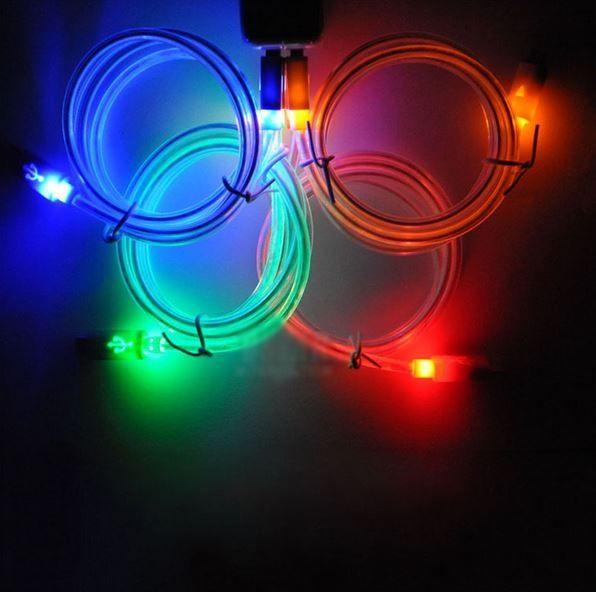 Świecący kabel do ładowania telefonu  #kabel #akcesoria #swiecący #ladowanie #ladowarka #telefon #sprzedam