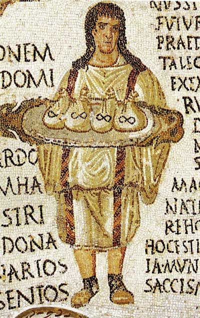 Detail of mosaic from Zeugma