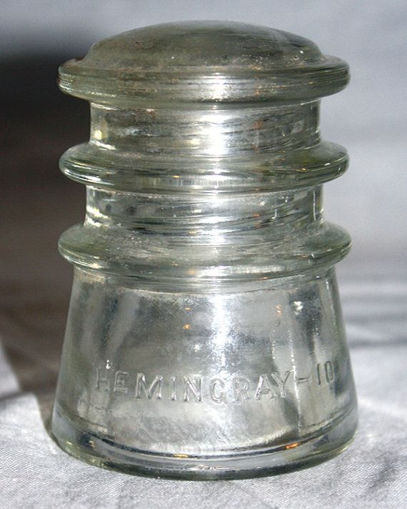 The 25 best glass insulators ideas on pinterest for Glass electric insulator crafts