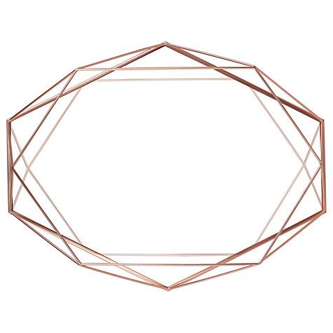 Buy Umbra Prisma Wall Mirror, 43 x 57cm Online at johnlewis.com