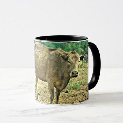 Bisbee Cows Coffee Cup  $16.95  by ChasingHummers  - custom gift idea