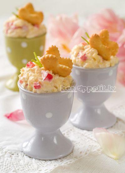Egg appetizer, via Flickr.