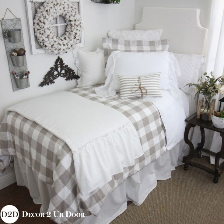 Best 25+ Plaid Bedroom Ideas On Pinterest