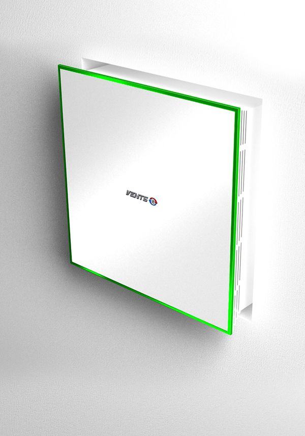 Invisible Fan Wall Mounted Michael Samoriz Bathroom Exhaust