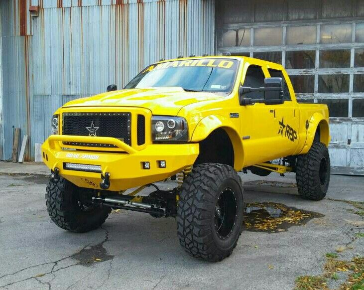 lifted ford f350 amarillo edition big yellow pinterest lifted ford and ford. Black Bedroom Furniture Sets. Home Design Ideas