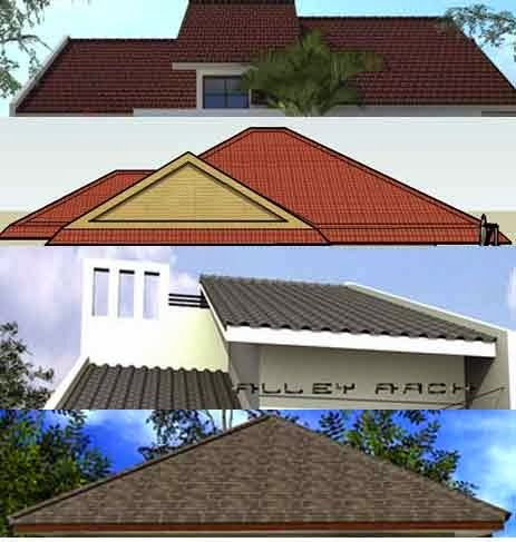 KINJENK HOUSE DESIGN: Variabel Atap Rumah