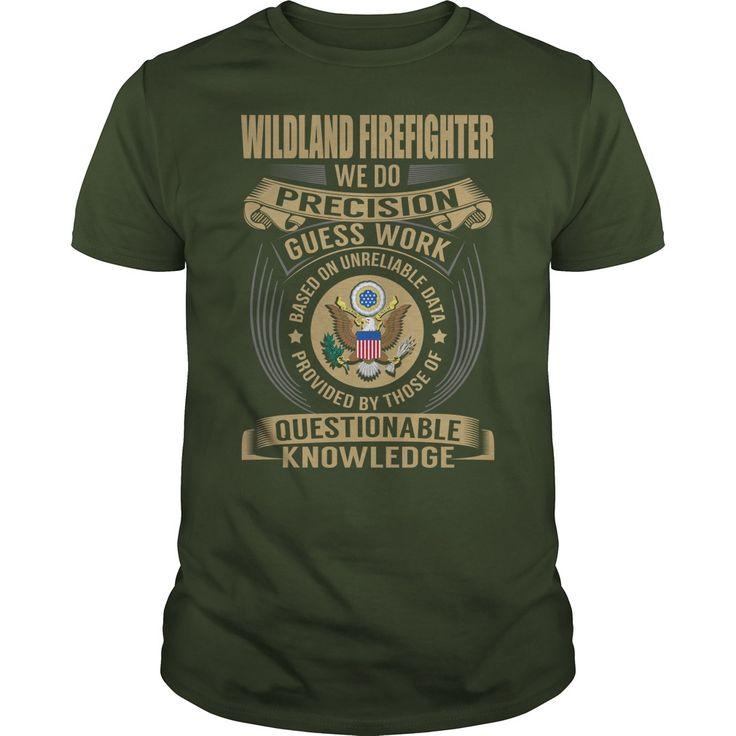 Wildland #Firefighter Job Title #Tshirts.| YeahTshirt.com