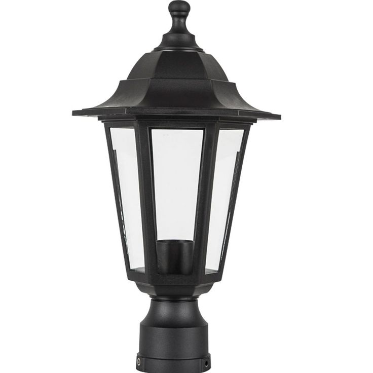 Black Led Solar Powered 5 Ft Traditional Garden Lamp Post: 25+ Best Ideas About Outdoor Lamps On Pinterest