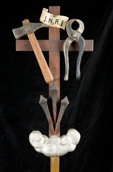 Manifattura toscana del XIX secolo, Insegna processionale del Venerdì Santo