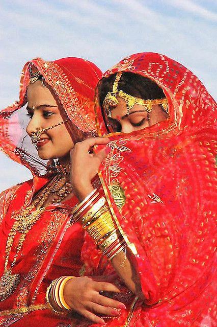 Jóvenes mujeres de Rajasthan India. #Viajar #Conocer